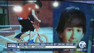 Ride for Bryce to honor victim of drunk driver
