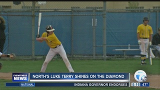 North baseball player shines on the diamond