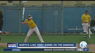 North baseball player shines on the diamond