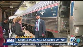 The push for a high-speed rail in WNY