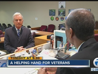 Help for veterans who end up in handcuffs