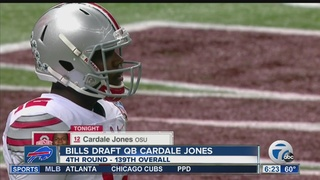 Bills take a QB, select Cardale Jones in the 4th