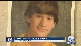 Rain didn't stop riders at the Ride 4 Bryce