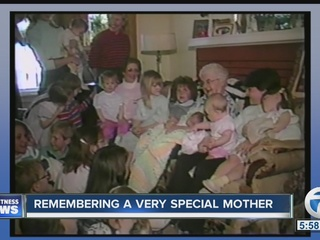 Remembering a very special mother