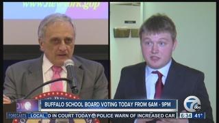 Buffalo school board election underway