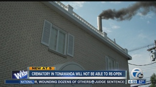 Local crematory to stay closed for now