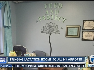 Legislation proposes lactation rooms in airports