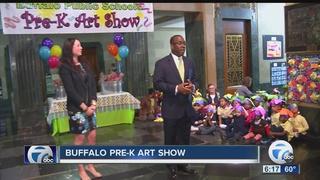 City Hall celebrates 49th annual Pre-K Art Show