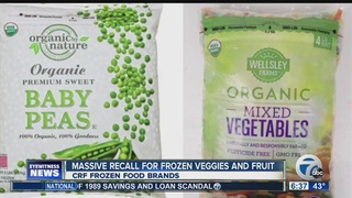 CRF Frozen Foods expands recall over Listeria