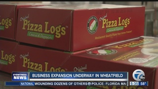 Company behind Pizza Logs expanding