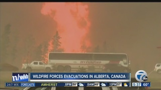 Local ties to fire evacuations in Alberta