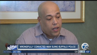 Wrongfully imprisoned man sues police