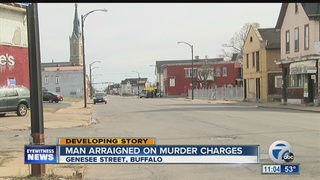 Buffalo man charged with second degree murder
