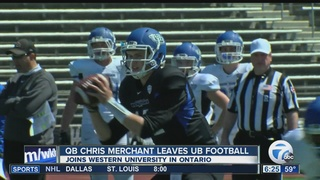 Quarterback leaves UB football