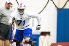 Bills' Kouandjio taken to ECMC after incident