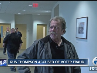 Thompson pleads guilty to election law violation