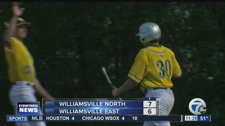 Wmsv. North tops rival East 7-6