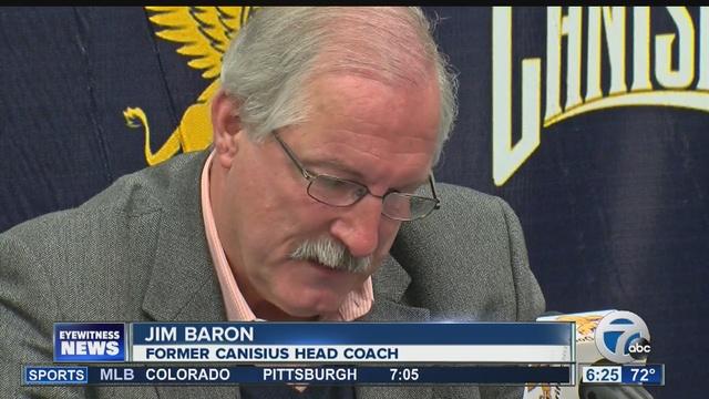 Canisius hoops coach Baron retires
