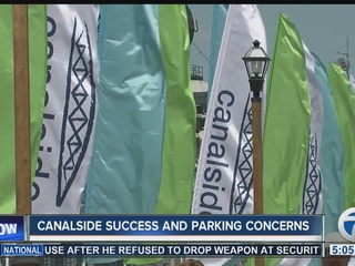 Are visitors worried about saftey at Canalside?