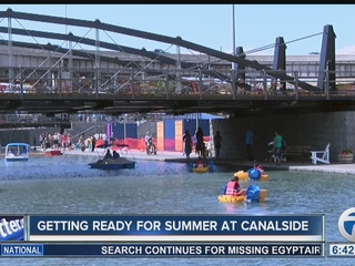 Music, fitness and food planned for Canalside