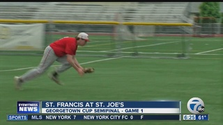 St. Francis & Canisius win semifinal tilts