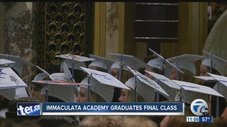 Immaculata Academy holds final graduation