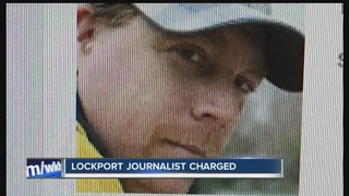 Lockport journalist facing several charges
