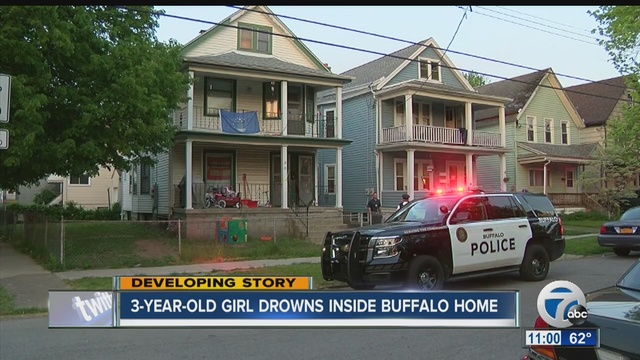 3-year-old girl drowns at Buffalo home