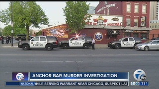 Is police chase connected to Anchor Bar murder?