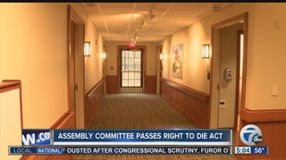 Assisted suicide bill moving forward in Albany
