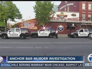 Report: possible suspect in Anchor Bar shooting