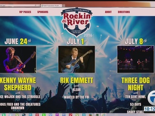 North Tonawand's Rockin' on the River Concert...