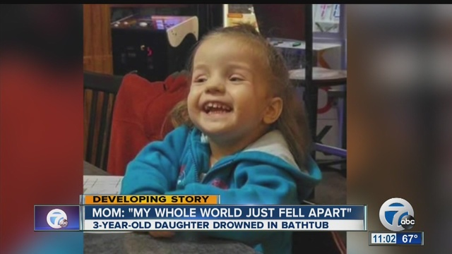 Drowned girl's mother questions sitter's actions