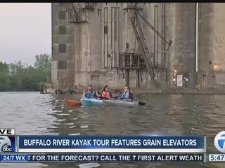 Kayak tour takes you through Silo City