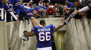 Bills' Henderson suspended by NFL for 10 games