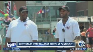 Canalside steps up security after arrest