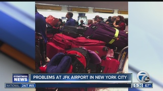 Computer glitch resolved at JFK Airport