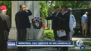 Western New Yorkers pay respects on Memorial Day