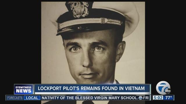 Lockport native's remains found in Vietnam