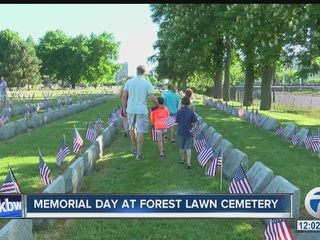 Memorial Day at Forest Lawn Cemetery