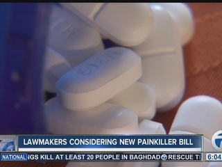 Lawmakers consider limit on opioid prescriptions