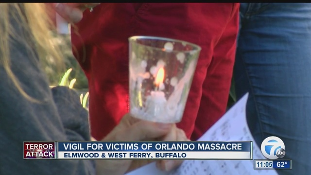 Portsmouth hosts vigil in remembrance of the Orlando shooting victims