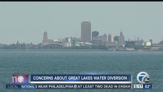 Water diversion plan could affect future WNY