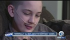 Terminally ill teen has a simple birthday wish