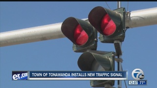 "New ""HAWK"" traffic system unveiled in Tonawanda"