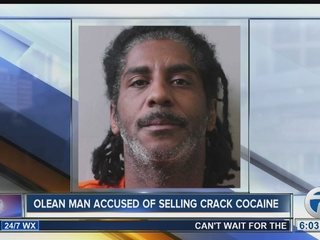 Olean man accused of selling crack cocaine