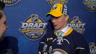 Sabres draft Rasmus Asplund with the 33rd pick