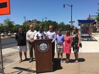 Niagara St Gateway Resurfacing Project Begins