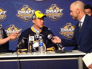 Sabres draft Cliff Pu with the 69th pick