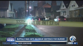 Buffalo man gets maximum sentence for shooting
